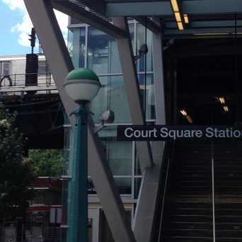 Photo of Court Square Station in Long Island City, New York