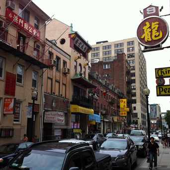 Photo of Tyler Street in Chinatown - Leather District, Boston