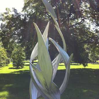 Photo of Vortex Sculpture in East Hyde Park, Chicago