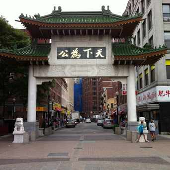 Photo of Chinatown Gate in Boston