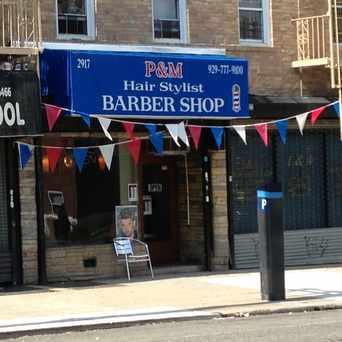 Photo of P&M Hair Stylist Barber Shop in Pelham Bay, New York