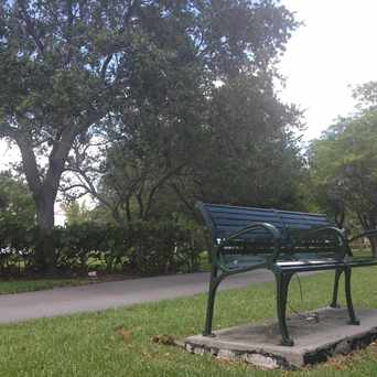 Photo of Bench In Biscayne Island Park in Downtown, Miami