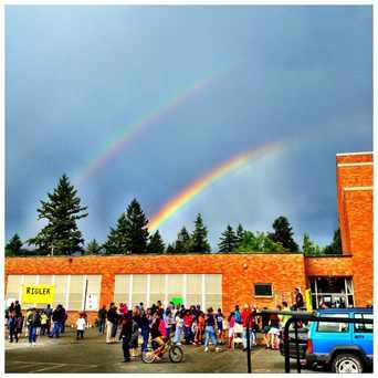 Photo of Rigler Elementary School in Cully, Portland