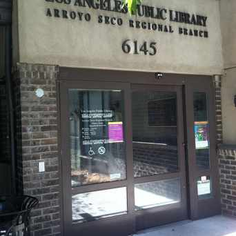 Photo of Arroyo Seco Library in Highland Park, Los Angeles