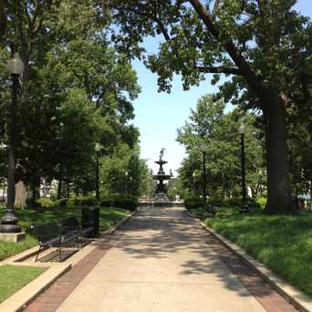 Photo of Court Square in Memphis