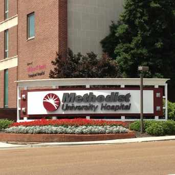 Photo of Methodist University Hospital in Memphis