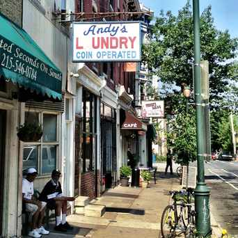 Photo of Andy's Laundry in Fitler Square, Philadelphia