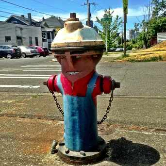 Photo of Fire Hydrant in Central District, Seattle