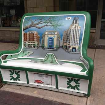Photo of Central Business District bench in Rochester