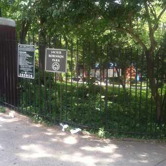 Photo of Jackie Robinson Park in Central Harlem, New York