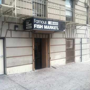 Photo of Famous Fish Market in Central Harlem, New York