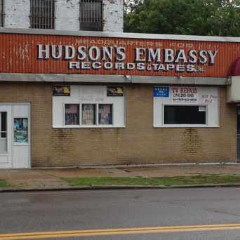 Photo of Hudson's Embassy Records Tapes in Grand Center, St. Louis