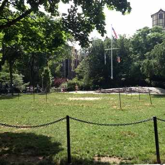 Photo of Bennett Park in Washington Heights, New York
