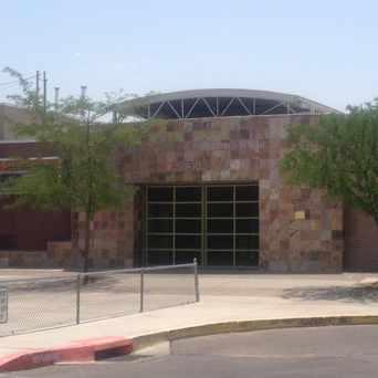 Photo of Dolores Gonzales Elementary School in Barelas, Albuquerque