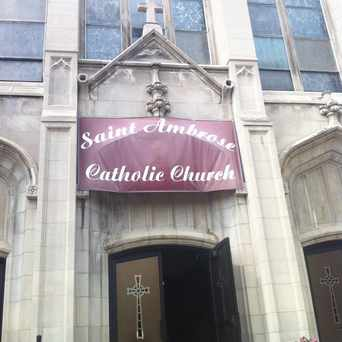 Photo of Saint Ambrose Catholic Church in Bronzeville, Chicago