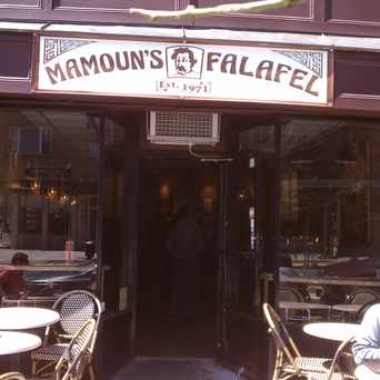 Photo of Mamoun's Falafel in Hoboken