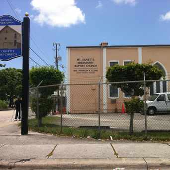 Photo of Mt Olive Baptist Church in Overtown, Miami