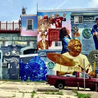 Photo of CPMAP Mural in Frankford, Philadelphia