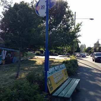 Photo of Bus Stop in North Tabor, Portland