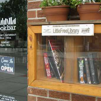 Photo of bookbar in Berkeley, Denver