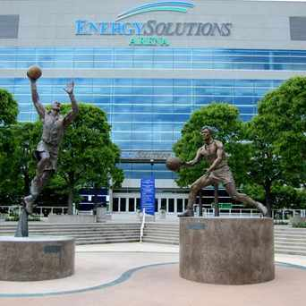 Photo of EnergySolutions Arena in Rio Grande, Salt Lake City