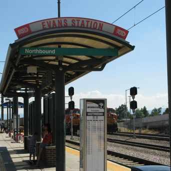 Photo of RTD Light Rail Evans Station in Overland, Denver