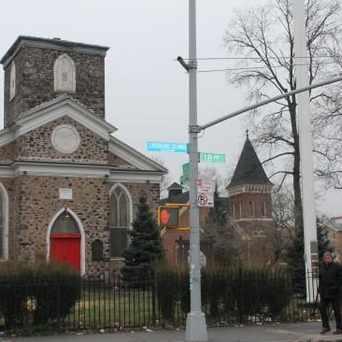 Photo of New Utrecht Reformed Church in Bensonhurst, New York