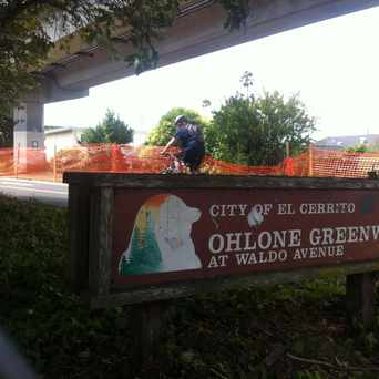 Photo of Ohlone Greenway in El Cerrito
