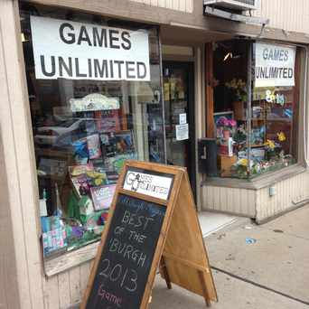 Photo of Games Unlimited in Squirrel Hill South, Pittsburgh
