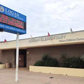 Photo of Logan Elementary School in Logan Heights, San Diego
