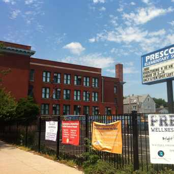 Photo of Prescott Elementary School in DePaul, Chicago