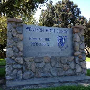 Photo of Western High School in Anaheim
