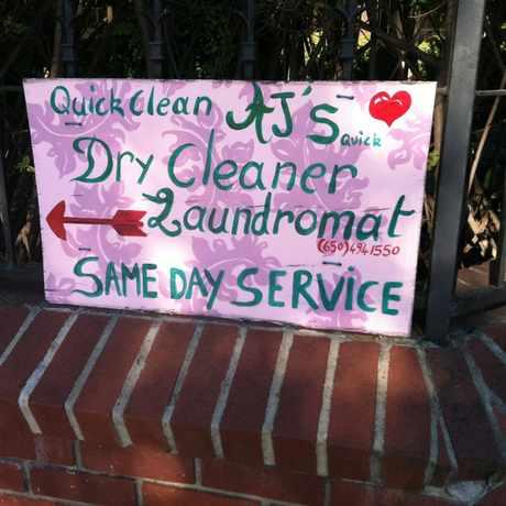 Photo of AJ's Quick Dry-Cleaner Laundromat in Midtown Palo Alto, Palo Alto