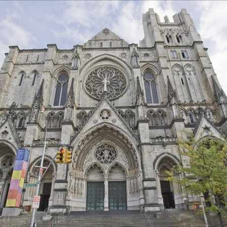 Photo of The Cathedral of St. John the Divine in West Harlem, New York