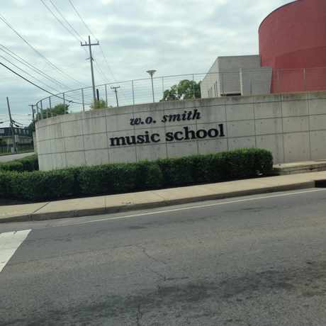 Photo of W O Smith Music School in South Nashville in Edgehill, Nashville-Davidson