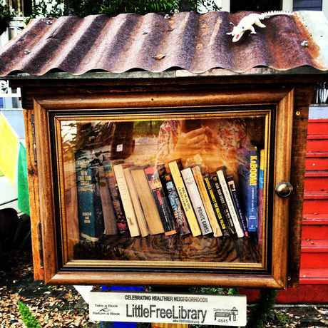 Photo of Little Library in Mid-City, New Orleans
