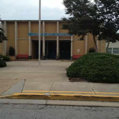 Photo of John B. Dey Elementary School in Virginia Beach