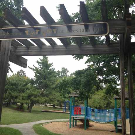 Photo of Belvedere Tot Lot At Evesham Park in Chinquapin Park - Belvedere, Baltimore