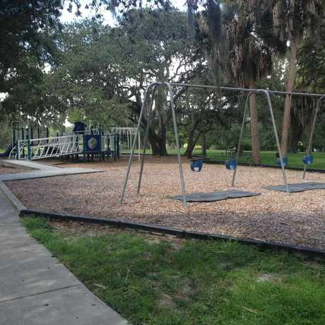 Photo of Playground In Rivercrest Park in South Seminole Heights, Tampa