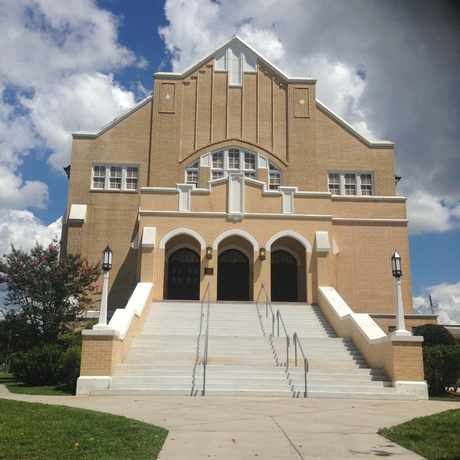 Photo of Seminole Heights United Methodist Church in Old Seminole Heights, Tampa