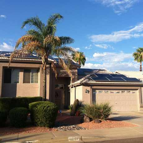 Photo of Solar Panels in Gilbert