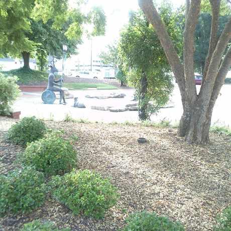 Photo of Charlie Loudermilk Park in Buckhead Village, Atlanta