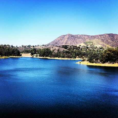 Photo of Hollywood Reservoir in Los Angeles