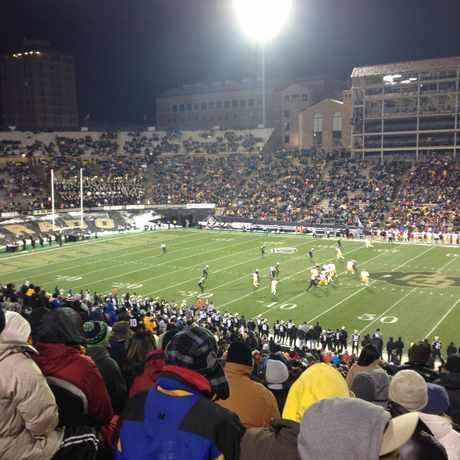 Photo of Folsom Stadium in Boulder