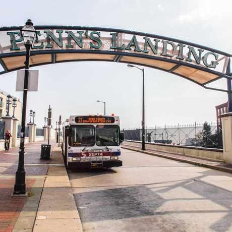 Photo of Penn's Landing in Philadelphia