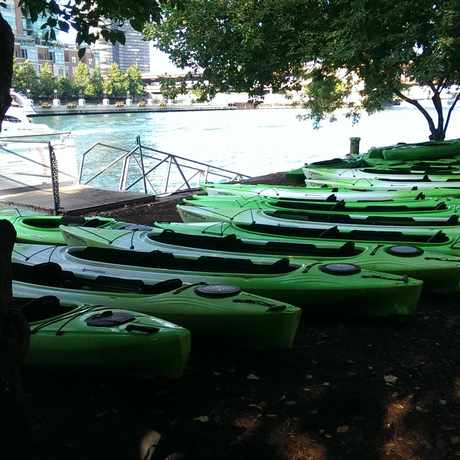 Photo of Urban Kayaks in The Loop, Chicago
