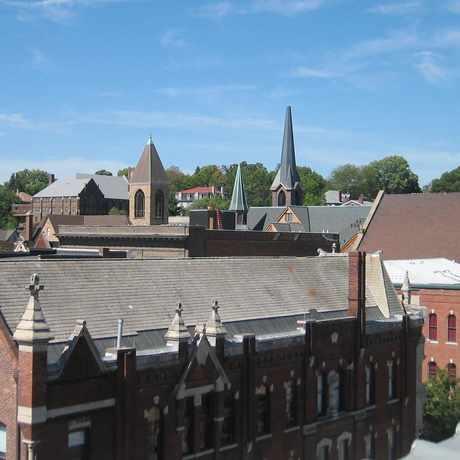 Photo of Downtown Burlington Commercial Historic District in Burlington