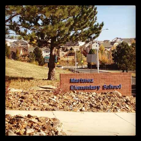 Photo of Martinez Elementary School in Colorado Springs