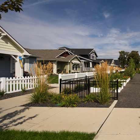 Photo of Kendall Yards Community Gardens in Spokane