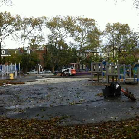 Photo of Seger Playground in Washington Square West, Philadelphia